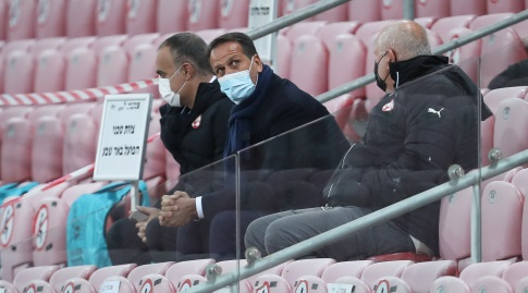Roni Levy in the stands (Radad Jabara)