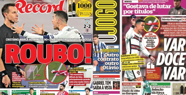 """""""Robbed"""", """"No Shame Without VAR"""": In Portugal angry"""